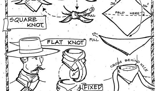how to tie a heather u0026 39 s wild rag   heatherswildrags com