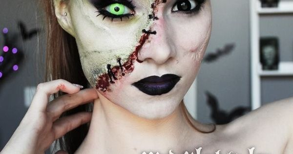 Halloween makeup 2015 - picture