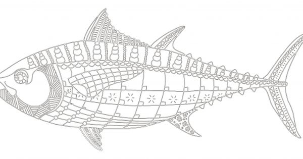 Tuna Fish Coloring Page Kidspressmagazine Com Fish Coloring Page Ocean Coloring Pages Coloring Pages