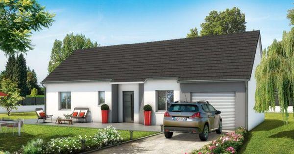 Plan maison 3D - maison plain pied Lila - Maisons Clair Logis - construire sa maison en ligne gratuitement
