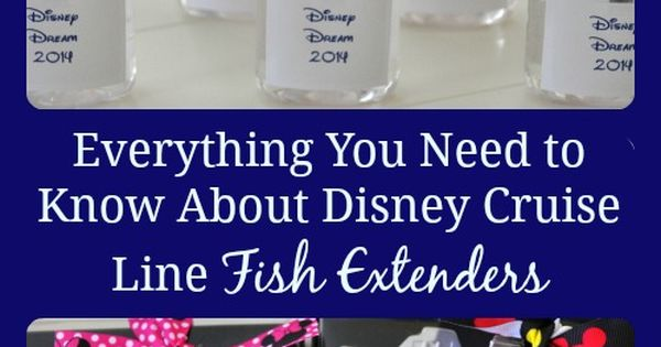 Disney Cruise tip: The lowdown on fish extenders and why the swap