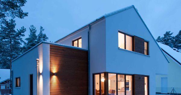 Projekt modernes einfamilienhaus competitionline for Architektur einfamilienhaus satteldach