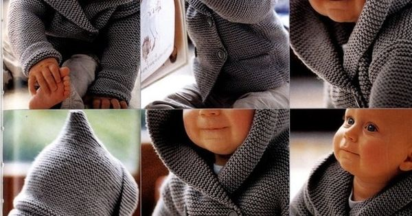 Hooded baby sweater. Cute Baby lovely kid baby boy| http://savory2852.blogspot.com