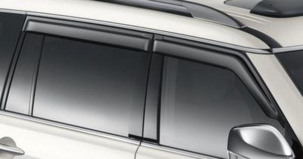 2017 Nissan Armada Side Window Deflectors H0800 1lk0a Nissan Armada Window Deflectors Nissan