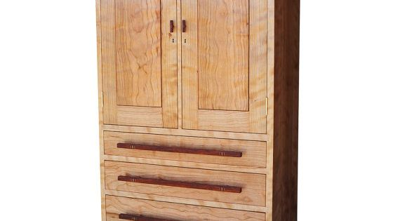 curly cherry rosewood jewelry cabinet remodel. Black Bedroom Furniture Sets. Home Design Ideas