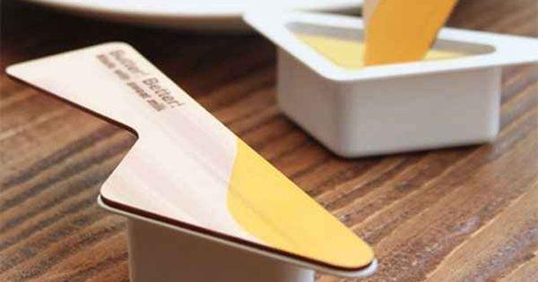 31 ejemplos de que el empaquetado puede molar cuchillo for Cuchillo para untar mantequilla
