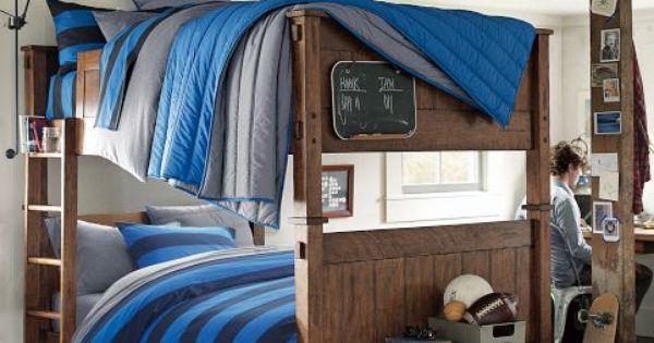 College Dorm Ideas For Guys Pbdorm Guys Dorm Bedding