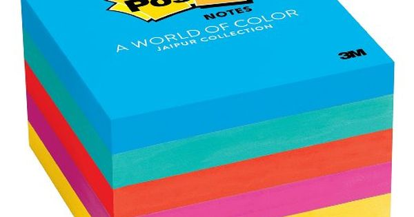 AMAZON #DealsOfDay - Save 47% OFF Post-it Notes, Jaipur Collection ...