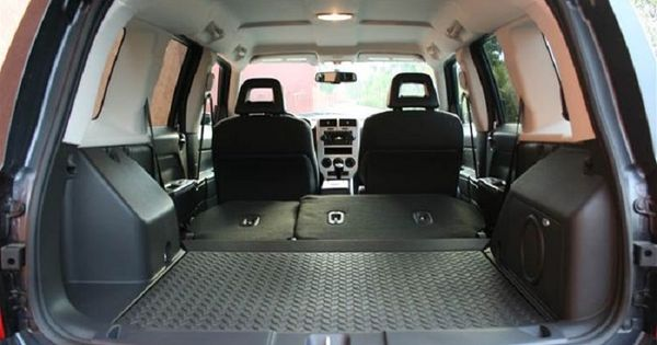 jeep patriot rear interior that trunk space i jeep. Black Bedroom Furniture Sets. Home Design Ideas