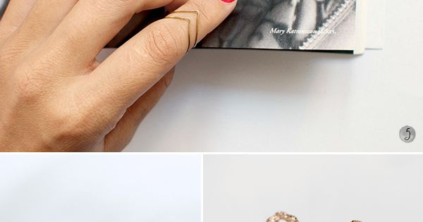 10 DIY rings & other DIY jewelry