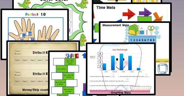 Bundle of First Grade Differentiated Math Units : Formal ...