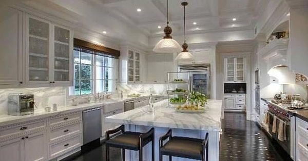 All white kitchen with dark wood floors south shore for All white kitchens with wood floors