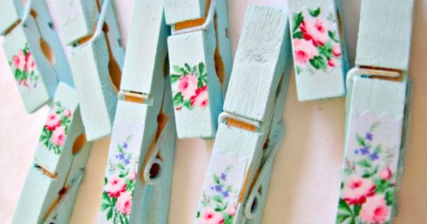 38 Creative DIY Ideas You Can Do With Wooden clothes pins