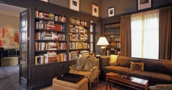 I want to have a library room