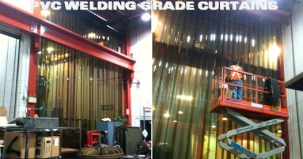 Welding Curtain Wall 12 Heavy Duty Pvc Strips Reduce Arc And Flash Strip Curtains Curtains Door Kits