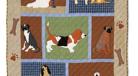 Quilt Dog Theme Sewing Quilting Pinterest Dog