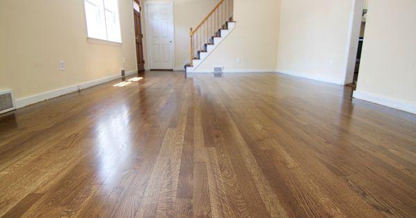 White Oak Hardwood Flooring Stained With Bona Quot Medium