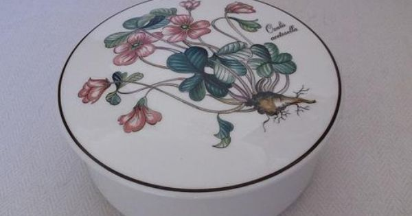 Other Antiques Collectables A Quality Porcelain Trinket Box By
