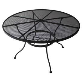 Product Image 1 Steel Dining Table Wicker Dining Tables Patio Dining Table