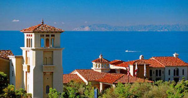 Marriott S Newport Coast Villas With Catalina Island In The