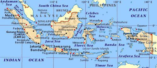 Nama Nama Provinsi Di Indonesia Beserta Ibukotanya Kepulauan Indonesia Peta