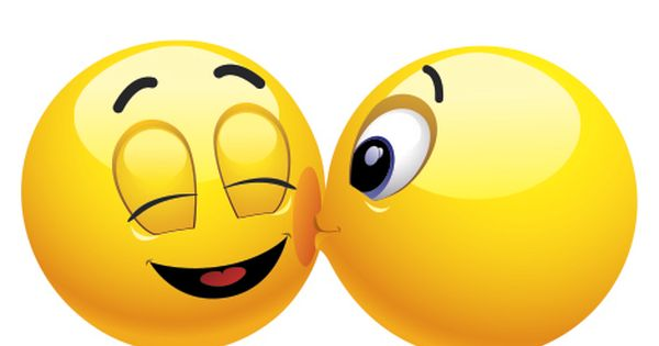 Smileys App With 1000 Smileys For Facebook Whatsapp Or Any Other Messenger Cheek Kiss Smiley Facebook Emoticons