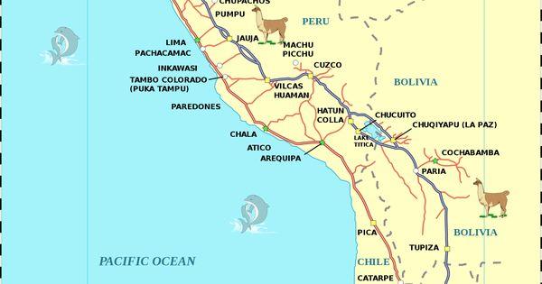 inca roads map - photo #15