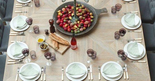 Tables, Carrés and Cieux on Pinterest