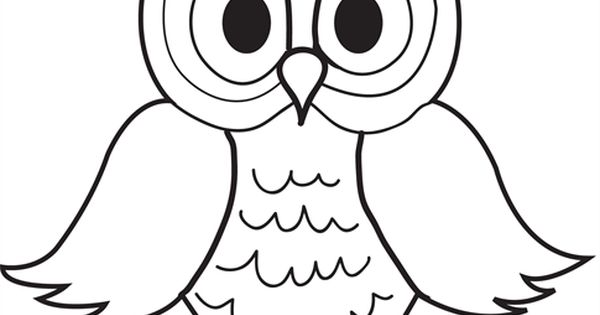 cartoon owls coloring pages - photo#34