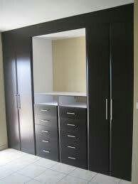 Buena Opcion De Ropero Wardrobe Design Bedroom Bedroom Closet Design Cupboard Design