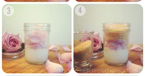 "Coconut + Rose ""Spring Time Scrub"" DIY beauty health tutorial"
