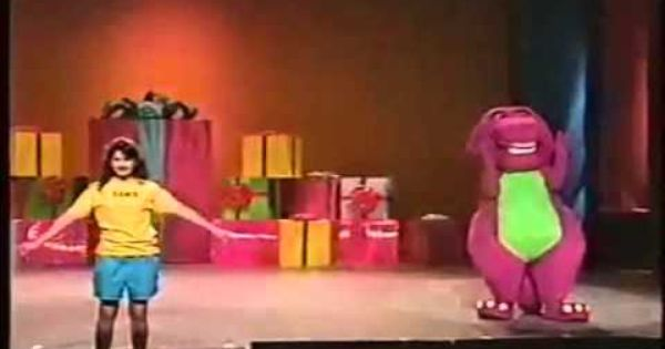 Barney The Backyard Gang Barney In Concert Kids Shows Barney 90s Tv Shows