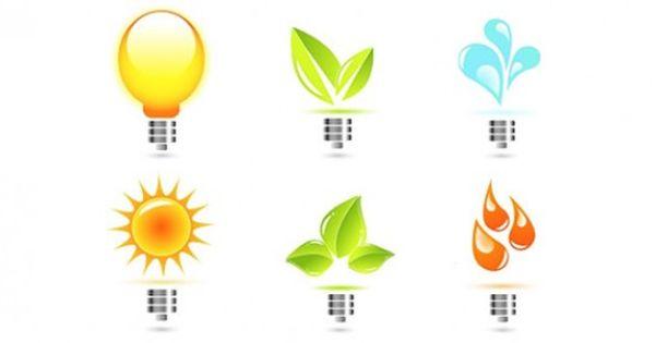 color logos light bulb