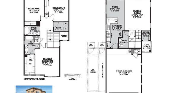 DR Horton Brookshire Floor Plan Via Www.nmhometeam.com
