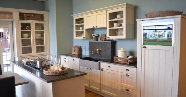Landelijke keuken op maat gemaakt model Twice - KEUKEN 2 : Pinterest ...