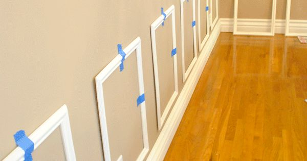 Diy Picture Frame Molding Tutorial This One Is Done From