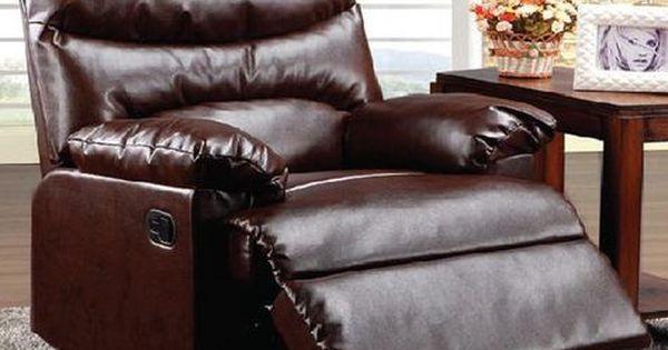 Arcadia Recliner Shopko Living Room Recliner Brown Leather