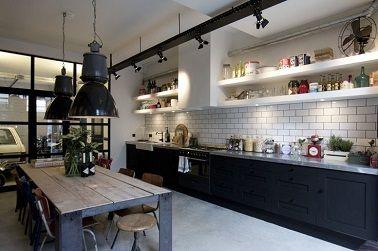 La Cuisine Industrielle Un Style Deco Qui Inspire Cuisine Industrielle Style Deco Cuisine Style Industriel