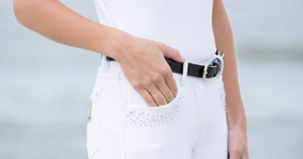 Cavallino Marino Equestrian Ladies Seaside Breathable Durable Competition Shirt