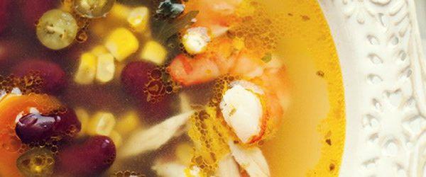 Zupa Meksykanska Z Krewetkami Czerwona Fasola I Kukurydza Kwestia Smaku Cooking Soup Cooking Food