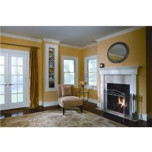 House Of Fara 3 4 In X 4 1 2 In X 8 Ft Mdf Crown Moulding 8659 The Home Depot Home Building A New Home House