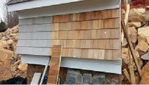 Bleaching Oil For Cedar Siding Cedar Siding Siding Wood Siding