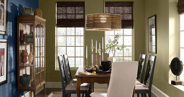 Paints wood stains interior exterior paints behr for Dining room colour inspiration