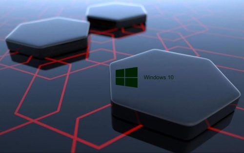 Windows 10 Desktop Image With 3d Art Black Hexagonal Wallpapers Papel De Parede Do Windows Papel De Parede Wallpaper Papel De Parede Android