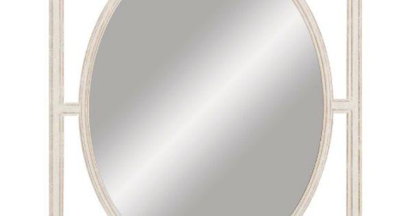 Target Home Home D Cor Mirrors Wall Mirror Threshold White