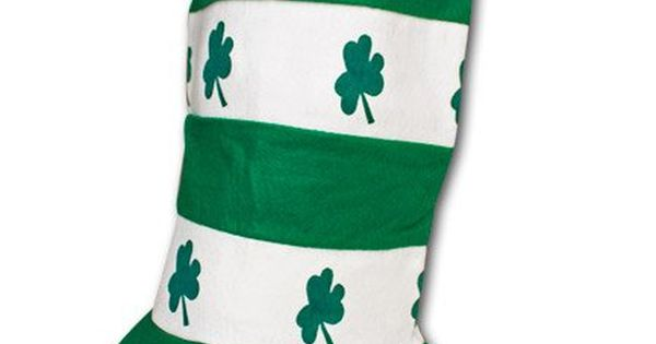 striped st patrick day flag