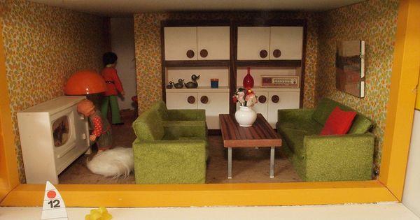 60er 70er bodo hennig wohnzimmer via flickr colourful for Wohnzimmer 60er 70er