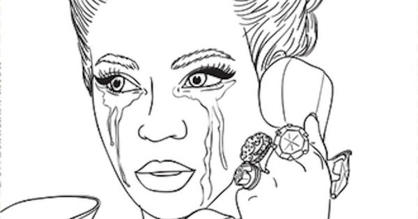 The Evolution Of Beyonc 233 Bey Themed Coloring Book From