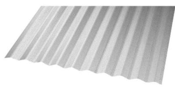 Use As Fireback 10 Ft X 2 Ft Galvanized Steel Construction Corruga Roof Panels Corrugated Roofing Galvanized Steel
