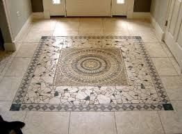 Mosaic Tile Floor For Kitchen Mosaic Flooring Entryway Flooring Floor Tile Design